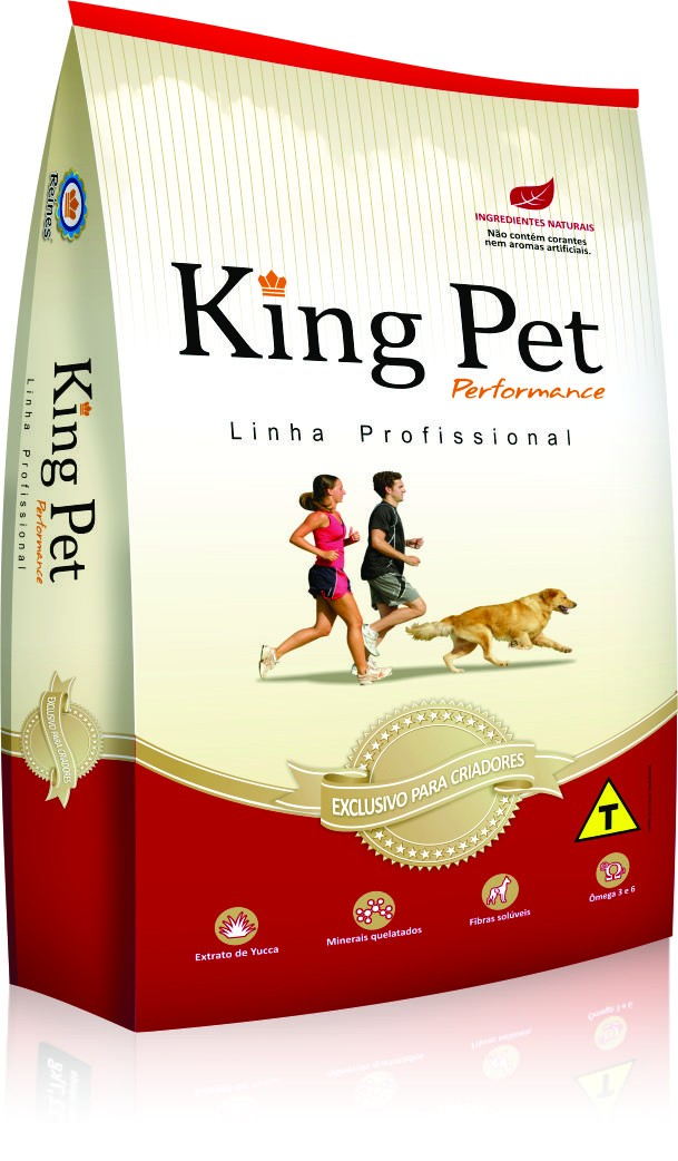 Alimento para Cães - King Pet Performance Raças Pequenas - Adulto 22,7kg