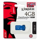 Pen Driver 4GB Kingston - DataTraveler 108